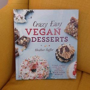 Crazy Easy Vegan Desserts Cookbook